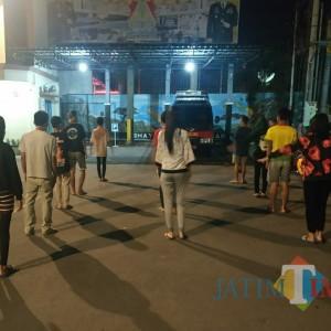 Tegakkan Physical Distancing, Polisi Amankan Pelajar dan Purel Nongkrong di Warkop