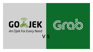 Gojek vs Grab (Foto:  GO-JEK Indonesia blogspot)