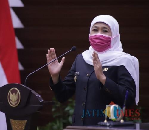 Gubernur Jatim Khofifah