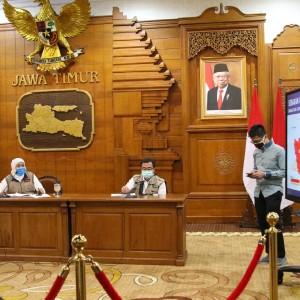 Sehari 83 Warga Surabaya Positif Covid-19, Gubernur Jatim: Warga Kurang Dapat Informasi