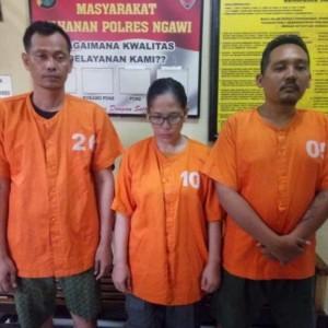 Polres Ngawi Ringkus 3 Aspri dan Ajudan Kepolisian Gadungan yang Telah Raup Untung Besar