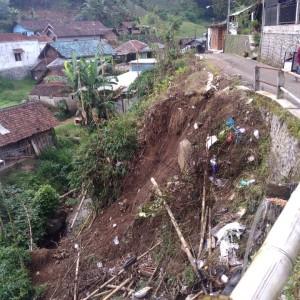 Hingga Pertengahan April, 4 Kali Tanah Longsor Terjadi di Kota Batu