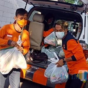 Jaga Ketahanan Tubuh saat Hadapi Covid 19 di Kota Kediri, Si Jamal Kirim Sayuran