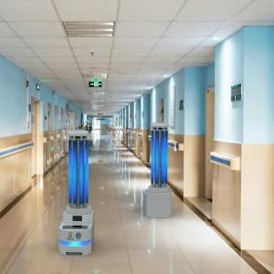 Keren! Ini Robot untuk Sterilisasi dan Disinfeksi Ruang Isolasi Pasien Covid-19