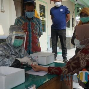 Kontak Dengan Pasien Covid 19, Puluhan Pegawai Dinkes di Rapid Tes, Hasilnya...