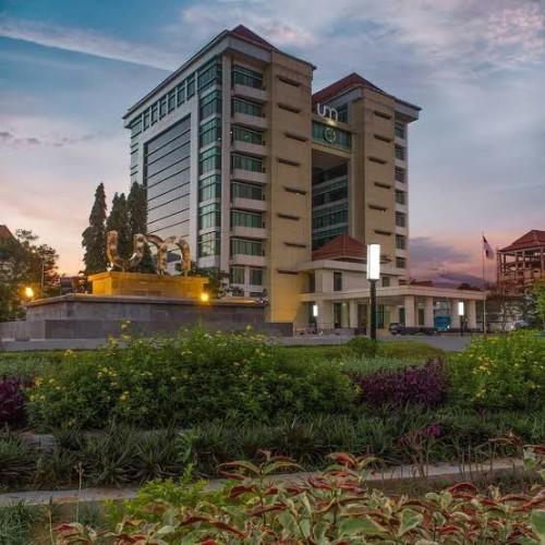 Gedung Rektorat baru Universitas Negeri Malang (UM). (Istimewa)