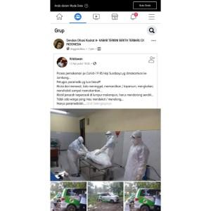 Viral! Mobil Jenazah Terjebak Lumpur Usai Pemakaman Pasien Covid-19