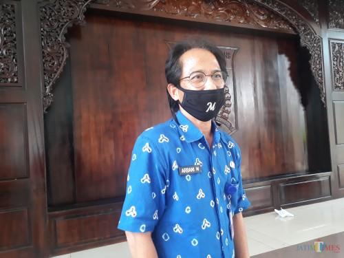 Kepala Dinas Kesehatan Kabupaten Malang, Arbani Mukti Wibowo. (Foto: Tubagus Achmad/MalangTimes)