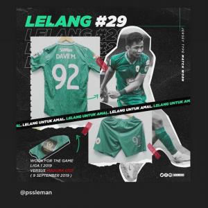 Bantu Tenaga Medis, Gelandang Arema FC Lelang Jersey saat Perkuat PSS Sleman