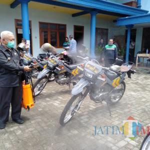 Bertambah Jadi 15 Kasus, Zona Rawan Covid-19 di Malang Kembali Disemprot Disinfektan