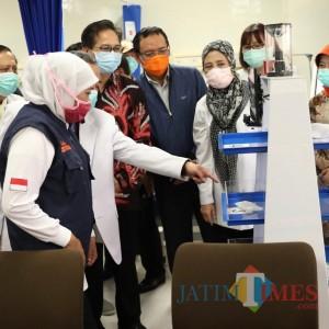 RAISA, Robot Pengganti Perawat Tangani Pasien Covid-19 di Jatim