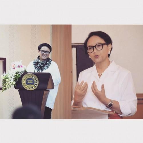 Menteri Luar Negeri Retno Marsudi (Foto: IG retno_marsudi)