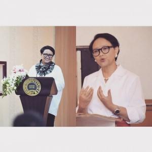 Menteri Retno Marsudi Tegaskan Perempuan Garda Terdepan Penanganan Covid-19