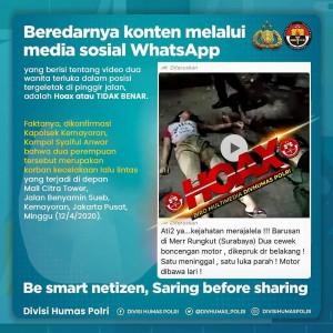 Tersebar Video Dua Wanita Tergeletak di Jalan Korban Kejahatan di Rungkut, Ini Faktanya