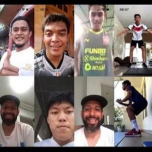 Pelatih Arema FC Awasi Pemain Latihan Jarak Jauh Seminggu Tiga Kali
