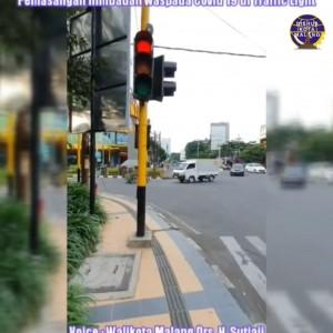 Masih Bandel Ramai di Jalanan, Siap-Siap Dengar Ceramah Wali Kota Malang di Traffic Light