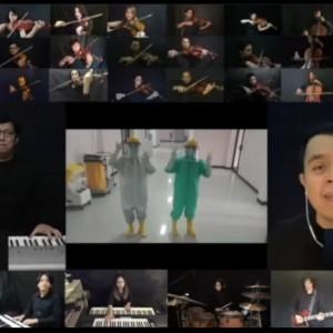 Sukses Gelar Konser Virtual, Erwin Gutawa dan Tulus Buka Donasi Covid-19