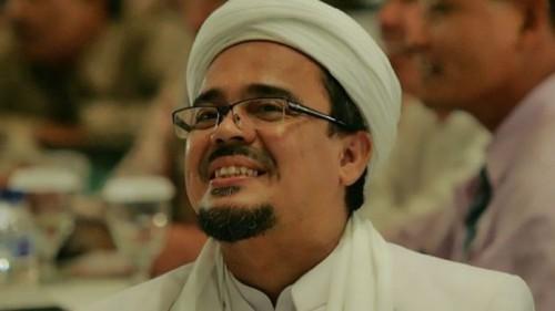 Imam Besar FPI Habib Rizieq (Foto:  Harianhaluan.com)