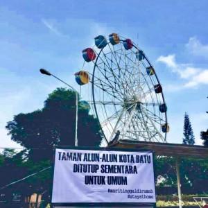 Penutupan Usaha Pariwisata di Kota Batu Diperpanjang sampai 30 April