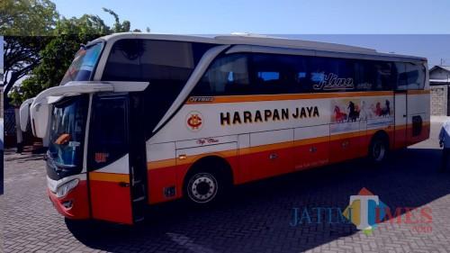 Pandemi Covid-19, Penumpang Bus Terminal Purboyo Menurun Drastis