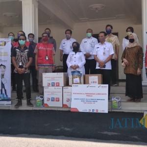 Bupati Jombang Terima Bantuan APD dari Pertamina dan Hiswana Migas