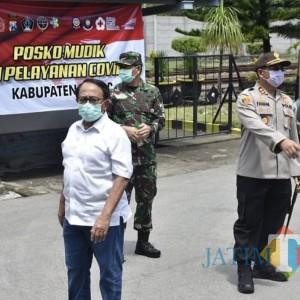 Bupati Rijanto Minta Warga Kabupaten Blitar Patuhi Larangan Mudik
