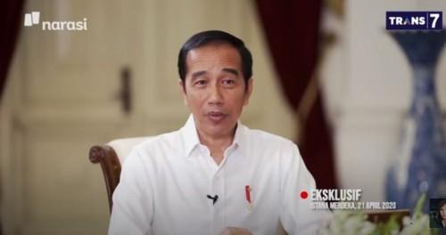 Presiden Joko Widodo (Foto: YouTube Najwa Shihab