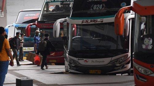 Ilustrasi Bus AKAP (Foto:  Tirto)