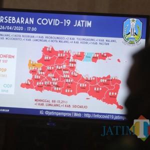 Jelang PSBB Tak Ada Penambahan Kasus Covid-19 di Surabaya Raya, Tapi...