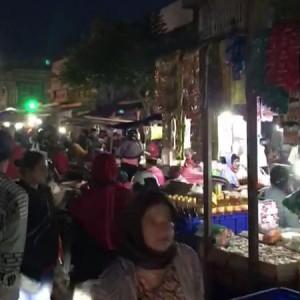 Pasar Kebalen Masih Riuh di Tengah Pandemi Covid-19, Wali Kota Sutiaji : Pusing Saya