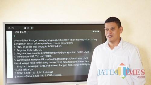 Wali Kota Kediri Umumkan Lima Kategori Keluarga yang Tidak Mendapatkan Bantuan Jaring Pengaman Sosial Pandemi Corona. (Foto: Ist)