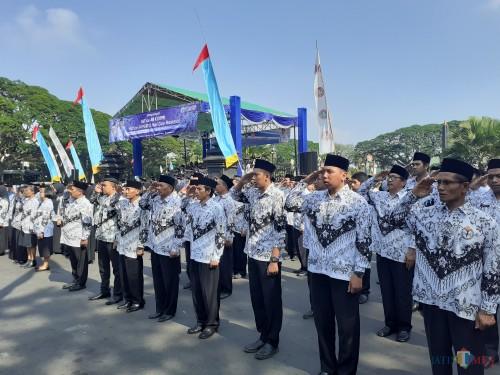 ASN Pemkot Malang. (Arifina Cahyanti Firdausi/MalangTIMES).