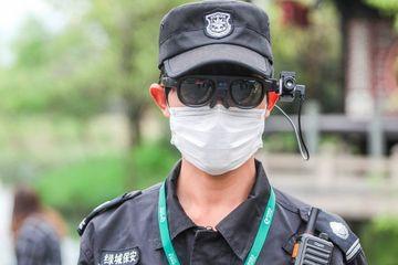 Kacamata T1 Buatan Startup China yang diklaim bisa deteksi gejala Covid-19. (Foto: istimewa)