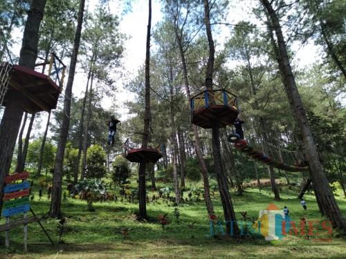 Tempat wisata Jurang Senggani di Sendang. (Joko Pramono for Jatim TIMES)