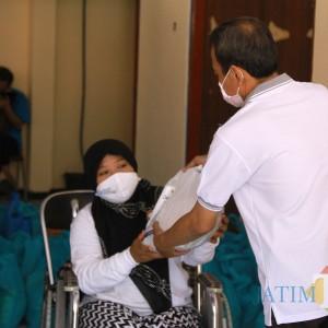 Peduli Disabilitas, Walikota Kediri Beri Bantuan dari Si Jamal
