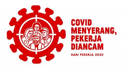 Peringatan Hari Buruh Internasional yang jatuh pada tanggal 1 Mei 2020, diwarnai aksi PHK dan di rumahkannya para buruh. (Foto: twitter @kuasasiswa)