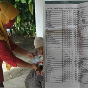 """Terungkap, """"Ketua PKH"""" Desa Kacangan Diduga Sering Main Sunat Bantuan"""