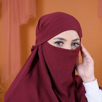 'Khimar Anti Corona' Jadi Tren Hijab Baru di Tengah Wabah Covid-19