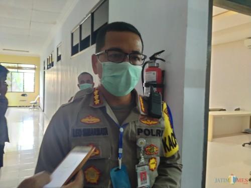 Kapolres Malang Kota Kombes Pol Leonardus Simarmata. (Doc MalangTIMES)