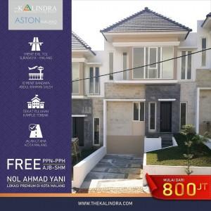 Hanya Rp 800 Juta Dapat Town House The Kalindra untuk Investasi Properti yang Pasti Naik