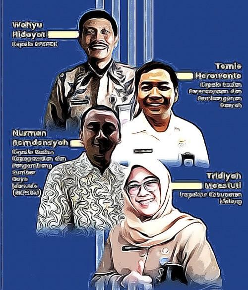 Para pejabat yang ramai digadangkan maju sebagai calon Sekda Kabupaten Malang (MalangTimes)