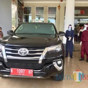 Kartika Sari Toyota Malang Fogging Disinfektan Interior 100 Mobil Plat Merah Pemkot Batu