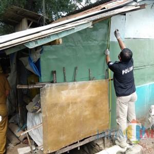 Tiga Tahun Numpang Tinggal di Warung Kopi, Tukang Becak di Gondanglegi Nekat Gantung Diri
