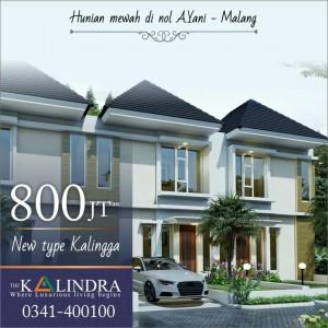 Harga Spesial Corona Town House The Kalindra Cuma Rp 800 Juta