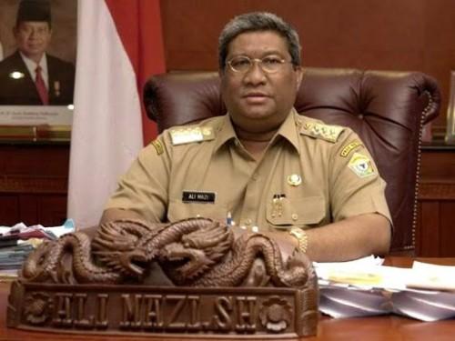 Gubernur Sultra, Ali Mazi (Foto:  Kendari Pos)
