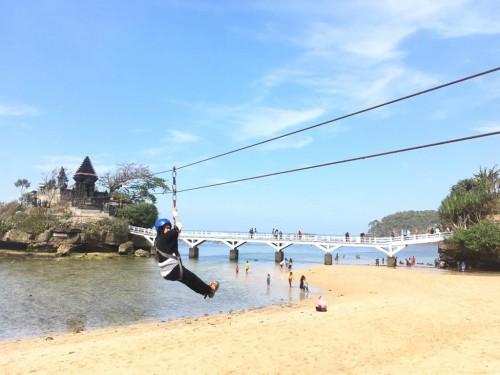 Salah satu destinasi wisata alam yang dipersiapkan untuk menyambut kelonjakan jumlah wisatawan di Kabupaten Malang