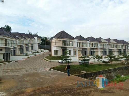 Pembangunan Town House The Kalindra Malang Terus Berprogres