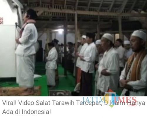Salat Tarawih Tercepat Hanya Ada di Indonesia, Bagaimana Menurut PDM Muhammadiyah?