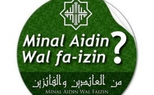 Ucapan selamat Idul Fitri ( Foto:  Muslim.Or.Id)