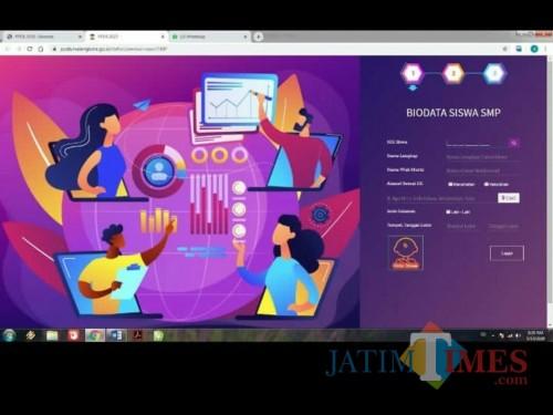 Alamat Web PPDB Kota Malang Diubah, Proses Pelaksanaan Diperpanjang